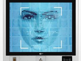 朗歌斯 15/17寸触摸屏人脸识别工业一体机 支持智能面部刷脸