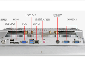 触摸工控工业一体HDMI接口与HDMI线